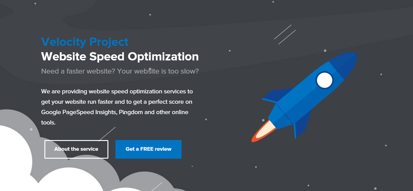 Website Speed Optimization Services Velocity Project