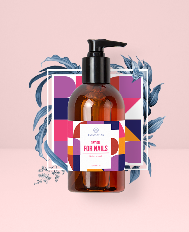 Dry Oil - Cosmetics Packaging | Cosmetics Packaging Design